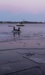 Båtutflykt till NyÖn 26/12 2013
